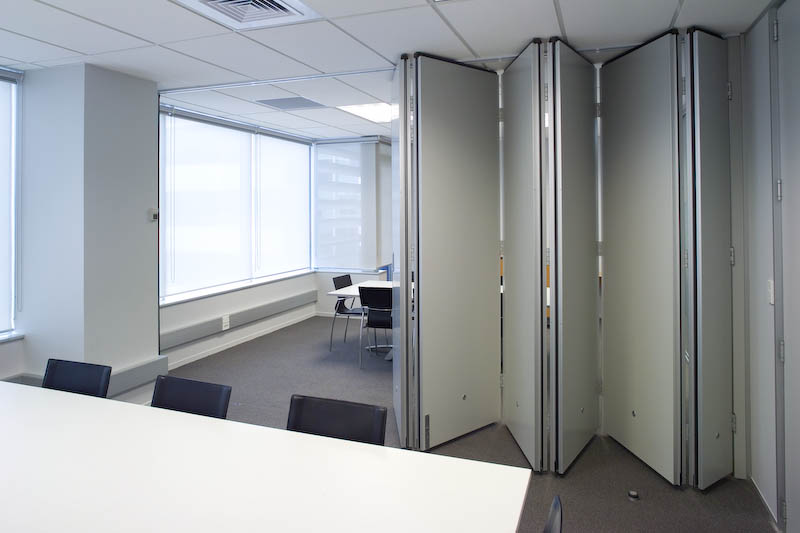 Folding Wall Partitions : Accordion concertina folding door moveable wall gallery