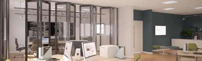 Operable doors interior and home impressing spazio for Lotus operable walls